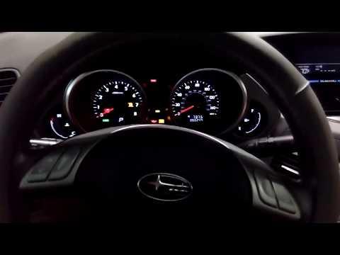 Subaru Tribeca - зеркало видеорегистратор с встроенным дисплеем + 8 парктроников