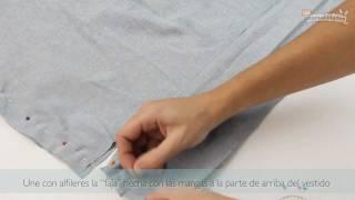 getlinkyoutube.com-Cómo hacer un vestido con una camisa