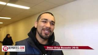 Dimar Ortuz en Knockout reality show por NUVOtv
