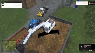 Farming Simulator 2015 Liebherr 900C Eurovia Excavator Mod