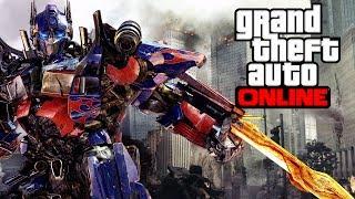 getlinkyoutube.com-GTA 5 Online - Optimus Prime