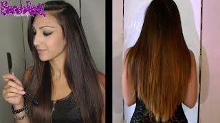 getlinkyoutube.com-[Cabello] DIY | Corte a capas manteniendo el largo - ¡Córtate el pelo en casa! - EL RETORNO