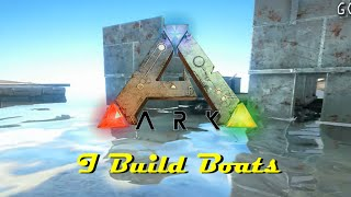 getlinkyoutube.com-ARK Survival Evolved - Building a Dino Carrier (timelapse)