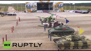 World Championship Tank Biathlon 2015 finals