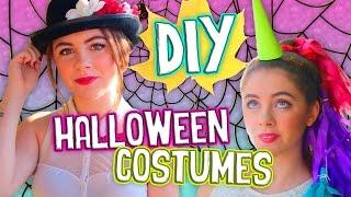 getlinkyoutube.com-Simple DIY Halloween Costumes for Teens! Easy & Inexpensive! // Jill Cimorelli