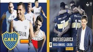 Boca Juniors vs Colon 2-0 - RELATO DE MARIANO CLOSS (PARTIDO COMPLETO AUDIO)