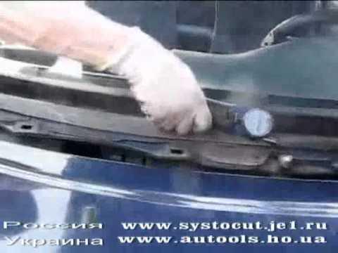 Снятие лобового Escort systocut S1 PRO.flv