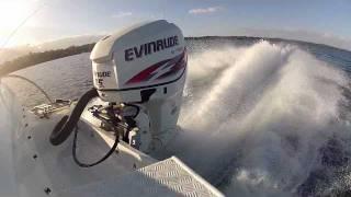 getlinkyoutube.com-Evinrude Etec 115hp HO - WOT Smooth Water