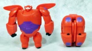 getlinkyoutube.com-빅 히어로6 베이맥스 변신로봇 반다이 장난감 조립 리뷰 Bandai Big Hero 6 Baymax