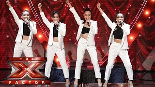 getlinkyoutube.com-There ain't no other women like 4th Impact! | Live Week 4 | The X Factor 2015