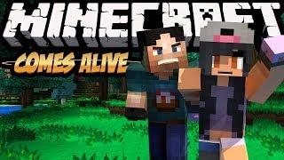 getlinkyoutube.com-Minecraft Comes Alive! w/ Aphmau - Socially Awkward