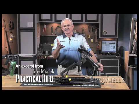 Brownells - Jerry Miculek Practical Rifle DVD Segment, Trigger Group, D1S3s9