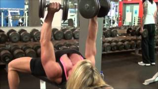 getlinkyoutube.com-Lisa Giesbrecht Chest workout!