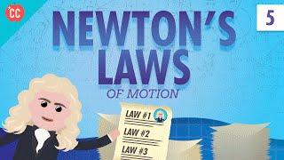 Newton's Laws: Crash Course Physics #5