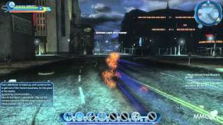 getlinkyoutube.com-DC Universe Online Running through Gotham City at ultra super speed - MMO HD TV (1080p)
