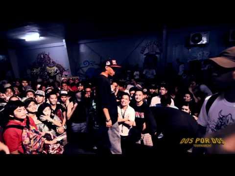FlipTop - Smugglaz/Shehyee vs Frooztreitted Hoemmizyd/Elbiz @ Dos Por Dos Tournament