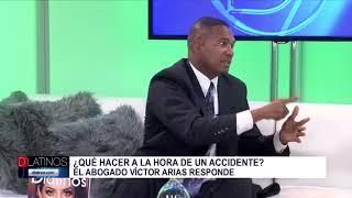 ¿Sufrió un accidente de Auto? El abogado Víctor Arias nos orienta
