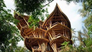 getlinkyoutube.com-Magical houses, made of bamboo | Elora Hardy