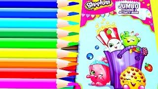getlinkyoutube.com-Coloreando Shopkins Libro de Actividades|Coloring Shopkins Activity Book|MDJ