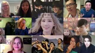 getlinkyoutube.com-Taeyeon - I (Reactions Mashup)
