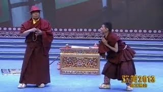 Tibetan Comedy -  Buddhist teacher & disciple (part 1 of 2)