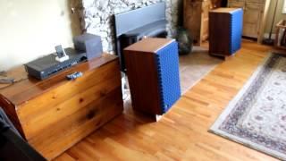 getlinkyoutube.com-JBL L100 Speakers ((L100A), NAD 1300 Pre-amp, Carver M-400t Magnetic Field Amp