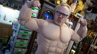 getlinkyoutube.com-Adam Savage's Incredible Muscle Suit