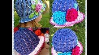 getlinkyoutube.com-Little Girls Cloche Hat Part 1