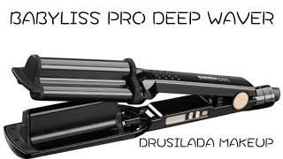 getlinkyoutube.com-Ondas con Babyliss pro (titanium expression) deep waver