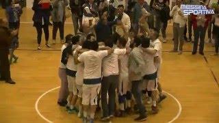 La sintesi di Gruppo Zenith Messina-Adrano (finale play-off gara 3 serie D)
