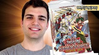 Best Yugioh Saber Force Starter Deck Opening and Review! X-Sabers?