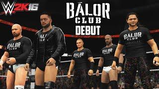 getlinkyoutube.com-WWE: Balor Club Debuts on RAW  (WWE 2K16 Storyline - PS4/XBOX ONE)