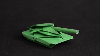 getlinkyoutube.com-Origami: War tank