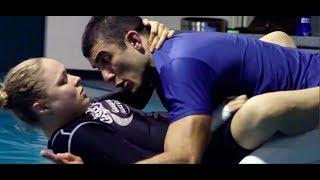 getlinkyoutube.com-Ronda Rousey Gracie Jiu-Jitsu Training Camp