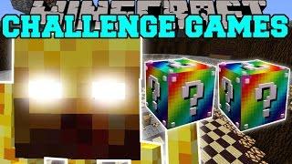getlinkyoutube.com-Minecraft: BLAZE TITAN CHALLENGE GAMES - Lucky Block Mod - Modded Mini-Game
