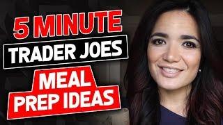 getlinkyoutube.com-5 Minute Trader Joes Meal Prep Ideas- Gauge Girl Training