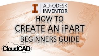 getlinkyoutube.com-How to create iParts | Autodesk Inventor