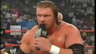 getlinkyoutube.com-Randy Orton's 2004 Face Turn & Spits in HHH Face