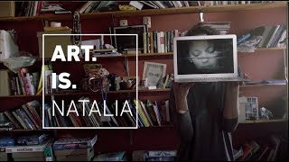 Art.Is.Natalia. Media poetry. Russian artist Natalia Fedorova. width=