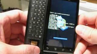 Motorola Droid Firmware Reset  ---  Android Reset