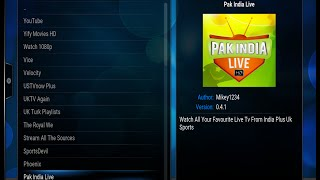 getlinkyoutube.com-Pak India Live HD Addon in Kodi to watch Pakistani and Indian Live TV Channels and Movies for free