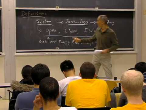 Lec 1 | MIT 5.60 Thermodynamics & Kinetics, Spring 2008