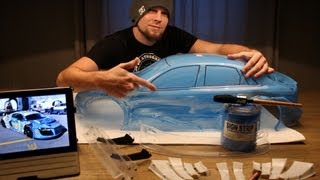 How to use liquid mask - FG Audi A4 DTM Sportsline 4WD