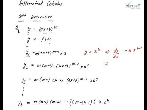 Nth Derivative Part 01, Differential Calculus, nth derivative examples