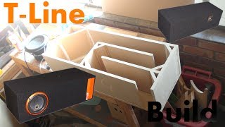 getlinkyoutube.com-T-Line Time - Subwoofer Box Build For Cadence S2W8""