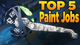 getlinkyoutube.com-Top 5 Paint Jobs in Black Ops 3 (EP. 11 New Weapon Camos)
