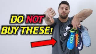 DO NOT BUY THESE! - Top 5 Worst Nike Soccer Cleats/Football Boots