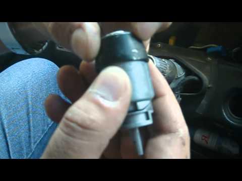 Audi 80 B3 разобрать личинку замка зажигания