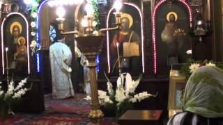 Праздничная служба в Румынской Церкви в честь Пресвятой Троицы г. Софии