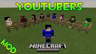 getlinkyoutube.com-MOD| YOUTUBERS| Minecraft PE v0.12.3| Pack de Mods